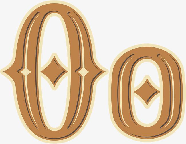 手绘创意字母ologo设计