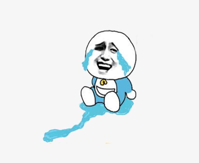 卡通表情包哭伤心流泪