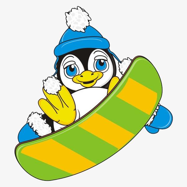 图片 装饰元素 > 【png】 手绘卡通装饰可爱小动物可爱企鹅海报设计