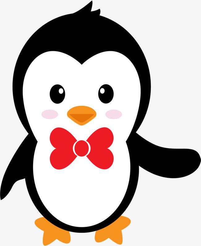 图片 > 【png】 卡通可爱黑白企鹅  分类:手绘动漫 类目:其他 格式