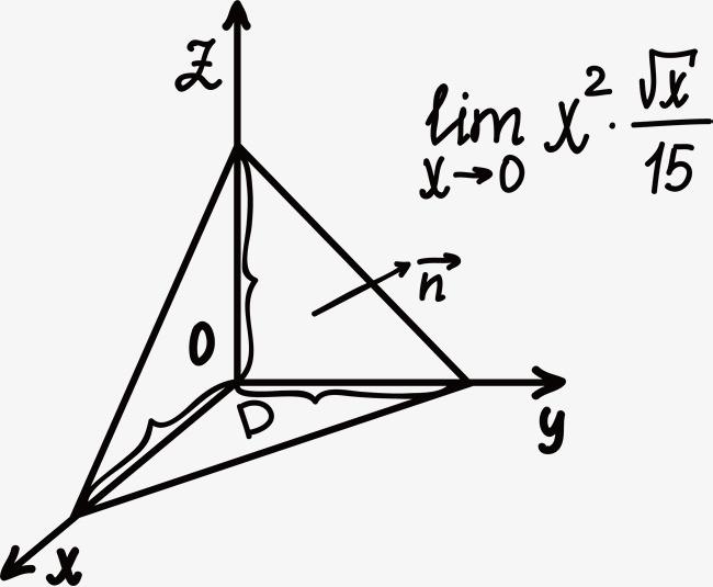 三角的数学方程式图片