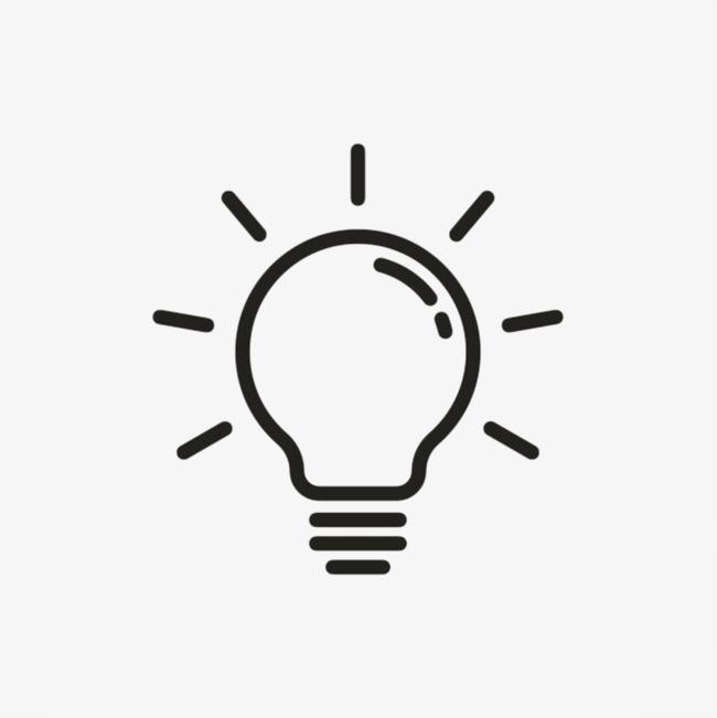 创意电器灯泡卡通手绘