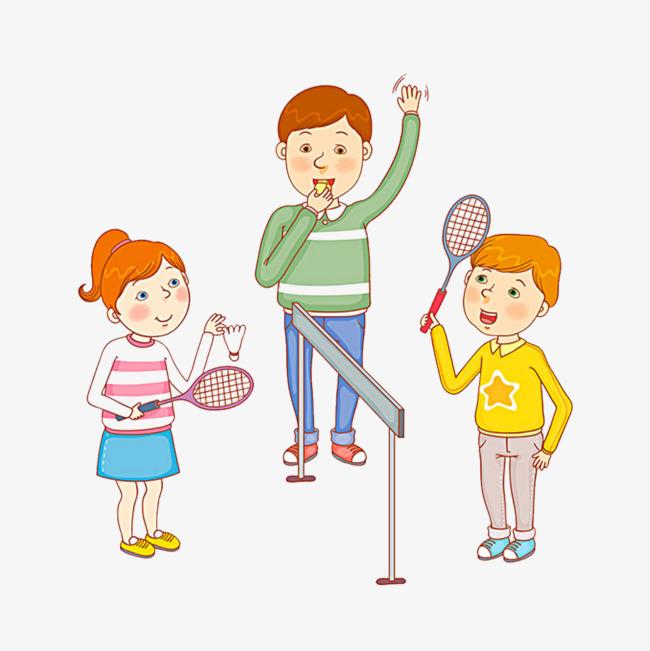 可爱的卡通小孩玩耍png图片