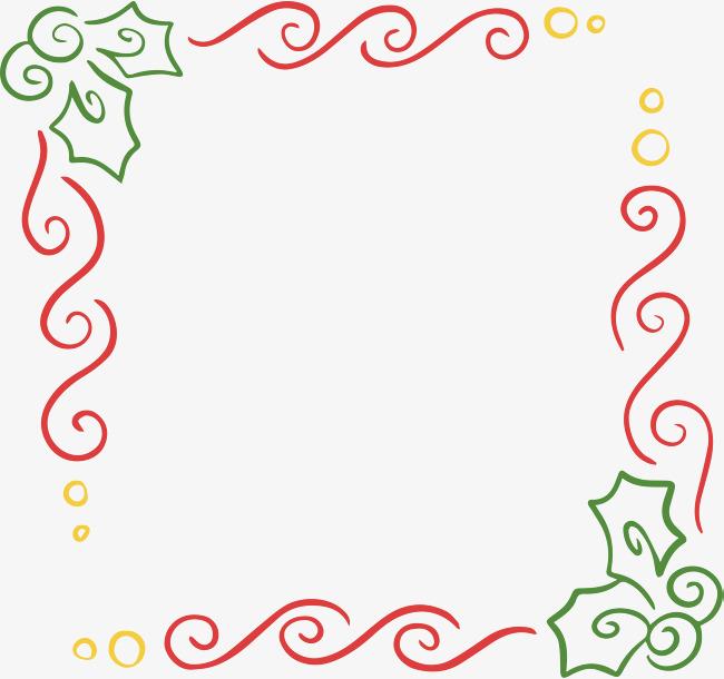 红色波浪线条边框素材图片免费下载 高清psd 千库网 图片编号9439394