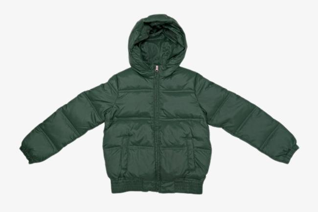绿色保暖衣服棉袄实物素材图片免费下载_高清