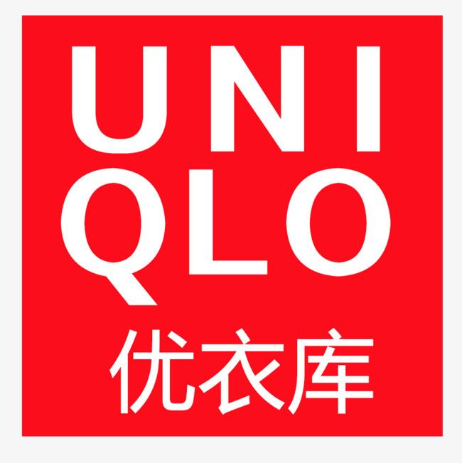 优衣库logo方形设计