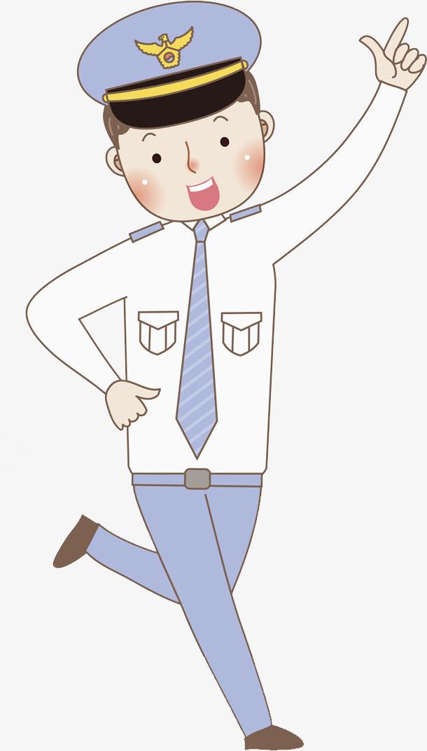 跳舞的警察免抠图png素材下载_高清图片png格式(编号