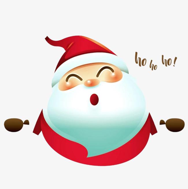 可爱的白色圣诞老人免抠图_png素材免费下载_ 804*804