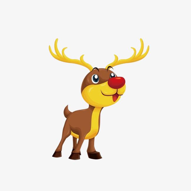 可爱的麋鹿免抠图_png素材免费下载_ 804*804像素(:)