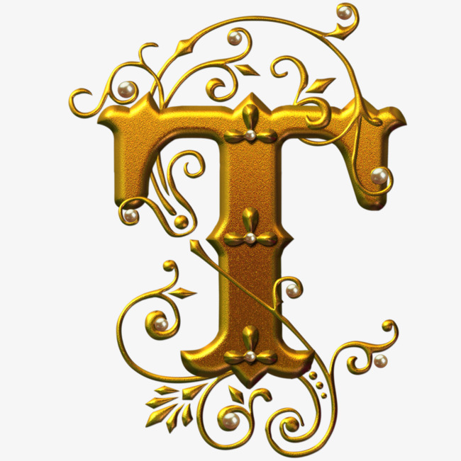 欧式立体英文字母t_艺术字设计_千库网图片