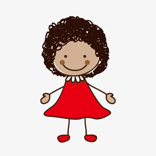 图片 > 【png】 卡通手绘可爱的女孩  分类:手绘动漫 类目:其他 格式