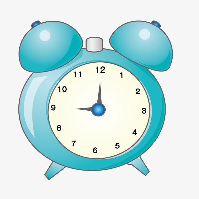 卡通可爱的闹钟时钟