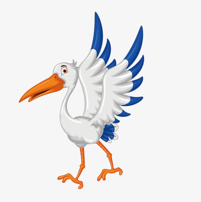 卡通可爱小动物装饰设计动物头像鸭子