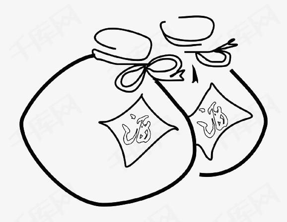 黑色手绘线条酒坛素材图片免费下载 高清png 千库网 图片编号9506520图片