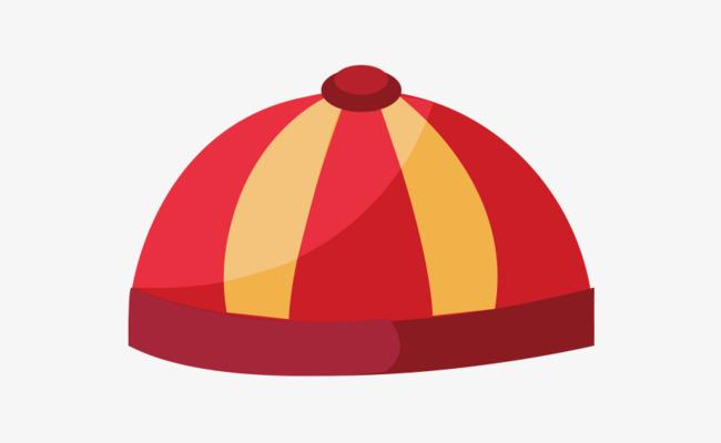 手绘新年红色帽子_png素材免费下载_ 882*536像素(:)