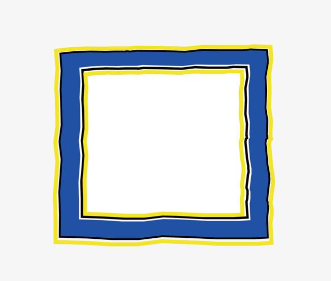 下载,本次矢量卡通扁平化长方形文本框蓝色png作品为设计师创作,格式
