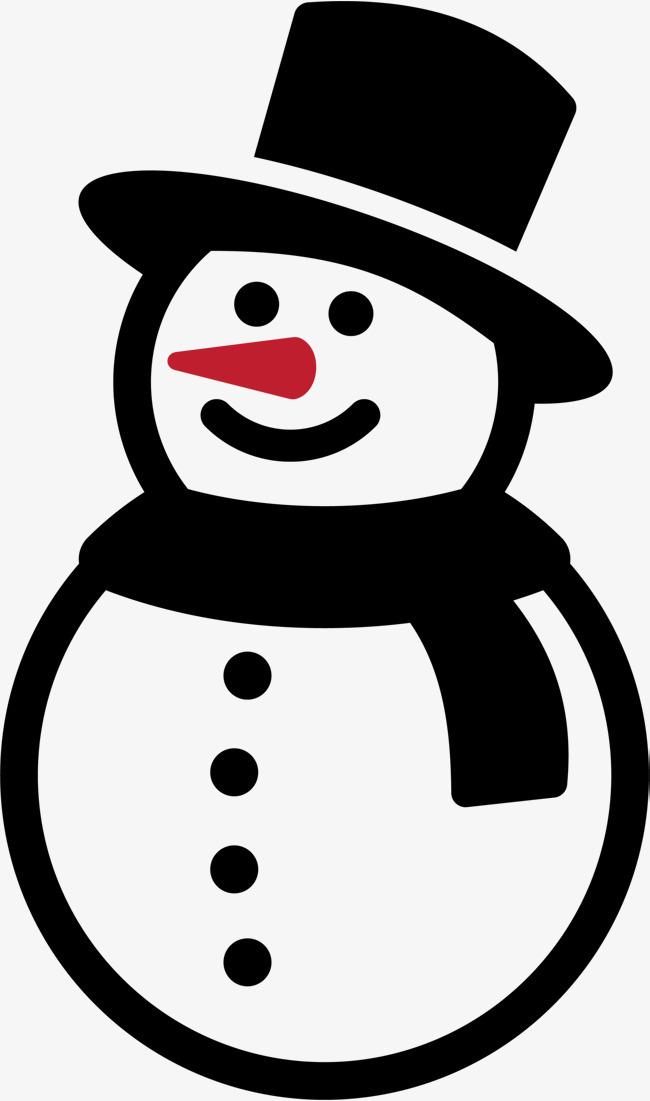 疯狂猜成语雪人_黑色冬季可爱雪人