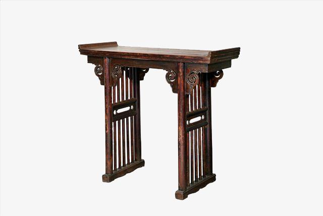 复古家具古代书桌写字台免扣