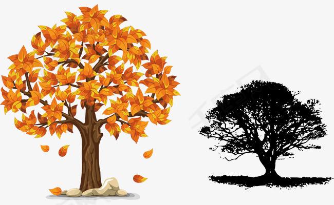 卡通大树手绘大树素材图片免费下载 高清psd 千库网 图片编号9552651
