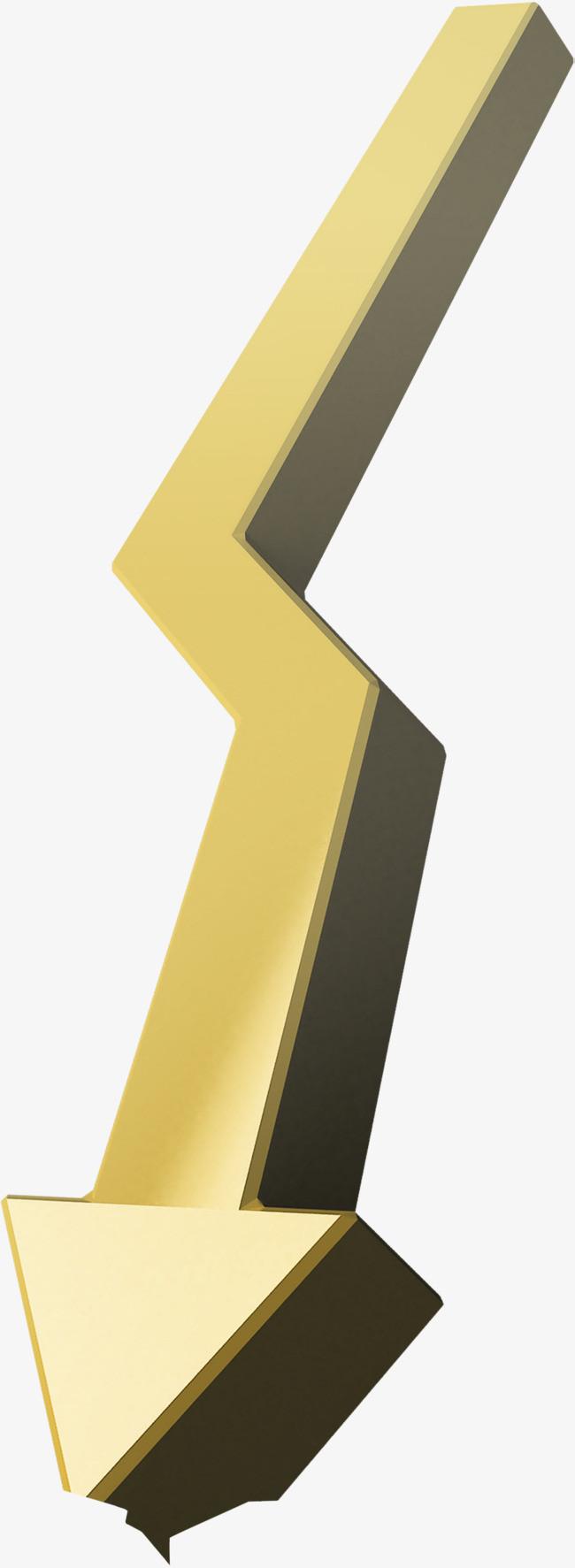 黄色方形立体箭头_png素材免费下载_ 964*2628像素(:)