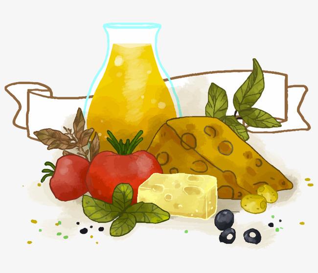 卡通手绘食物免抠图_png素材免费下载_ 1516*1299像素