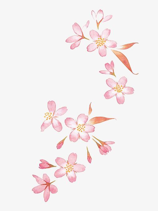 图片 > 【png】 手绘粉色桃花花朵  分类:手绘动漫 类目:其他 格式:pn
