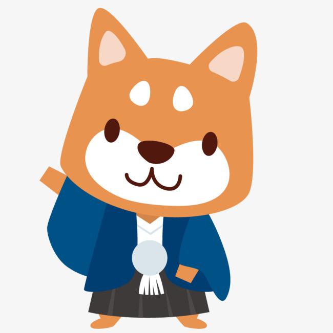 图片 装饰元素 > 【png】 卡通可爱小动物装饰设计动物头像狗狗  分类