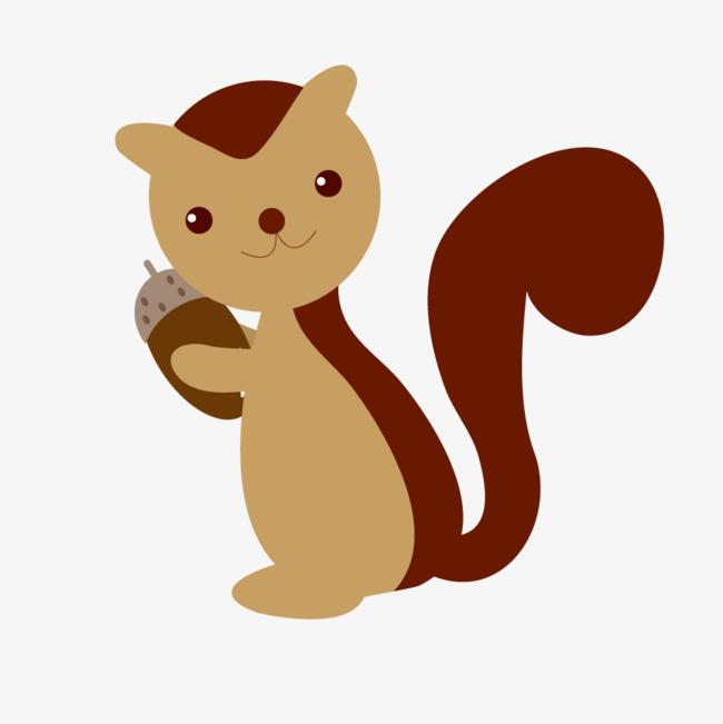 可爱的卡通小动物