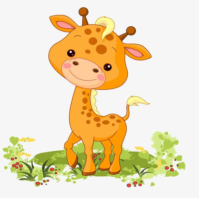 图片 > 【png】 卡通可爱动物麋鹿矢量图  分类:手绘动漫 类目:其他