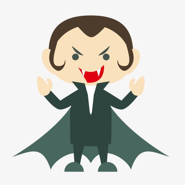 卡通版吸血鬼人物