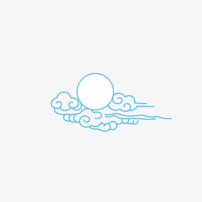 太阳和祥云简笔画_png素材免费下载_ 800*800像素(:)