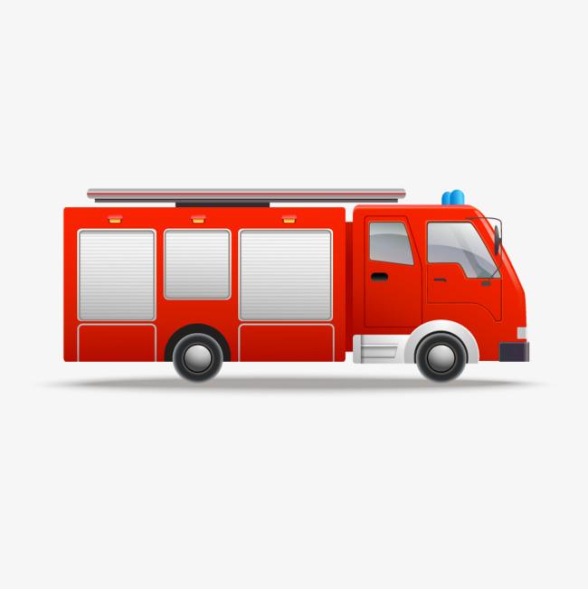 卡通手绘交通工具卡车