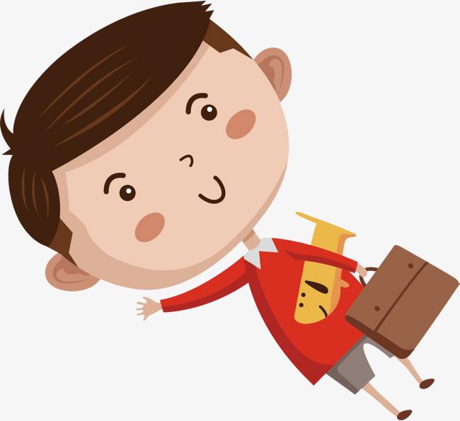 可爱的小男孩卡通装饰png图片