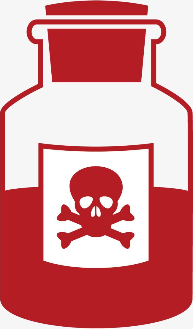 红色的药瓶医院小图标png素材下载_高清图片png格式