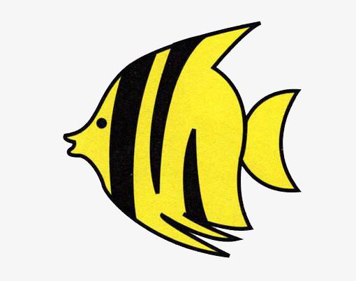 卡通简笔画小鱼儿