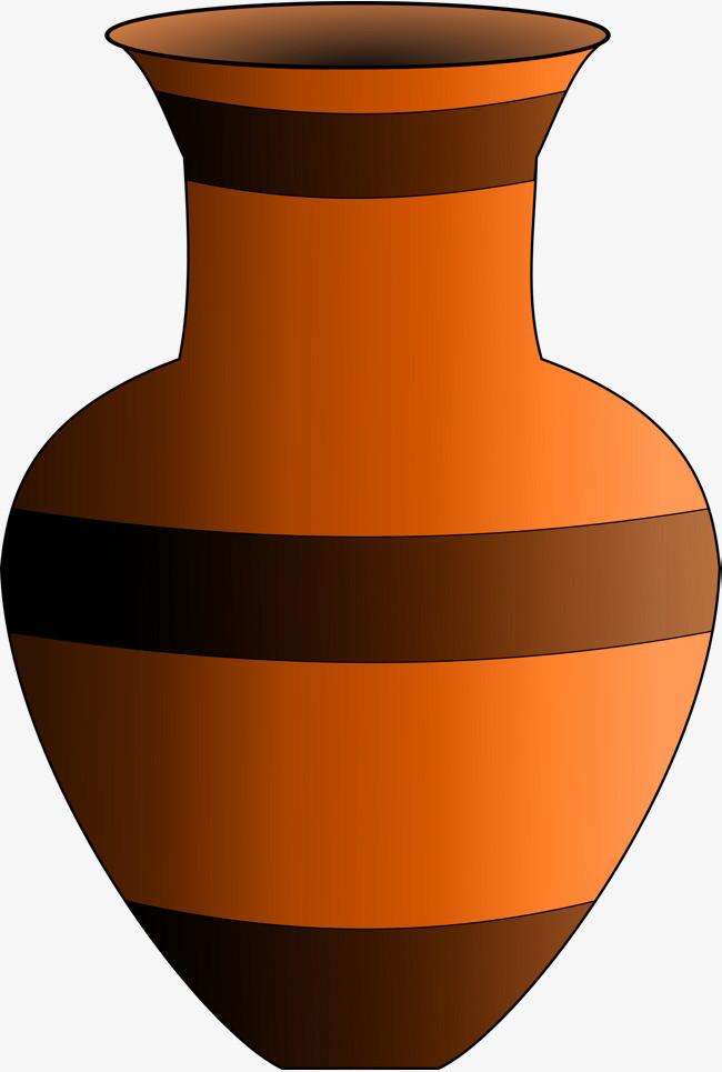图片 装饰元素 > 【png】 手绘陶瓷罐子png图片