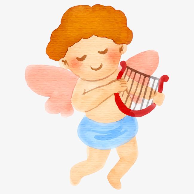 卡通可爱天使免抠图_png素材免费下载_ 1300*1300像素