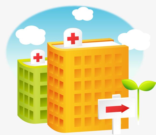 卡通医院 卡通医院医生护士图片