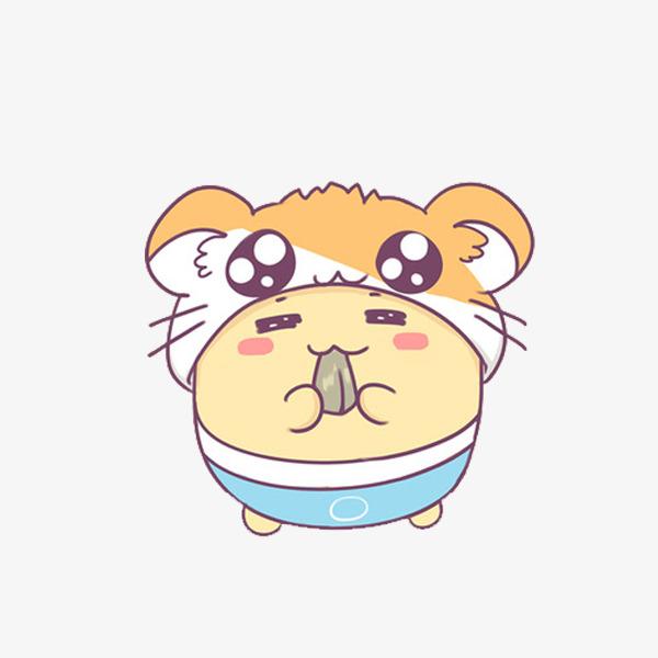 卡通吃东西的小狗免抠图_png素材免费下载_ 600*600