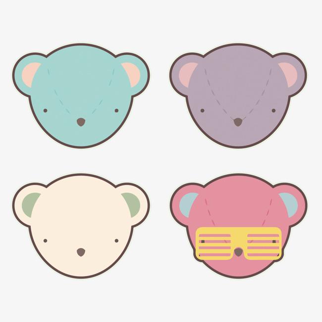2017可爱美甲熊头