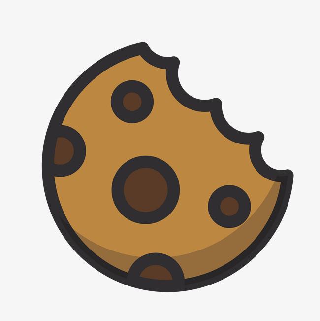 图片 饼干主图 > 【png】 卡通版棕色的饼干  分类:手绘动漫 类目图片