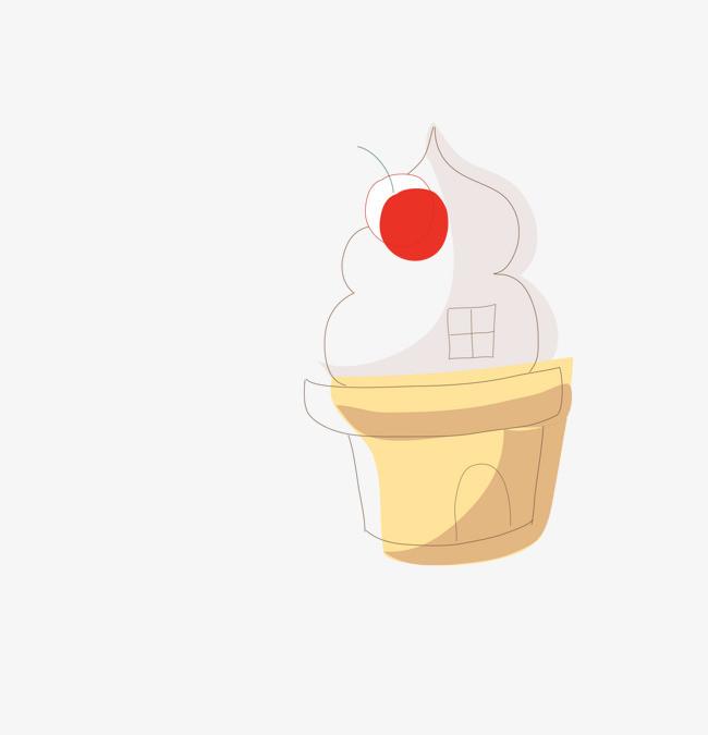 卡通手绘冰淇淋动画
