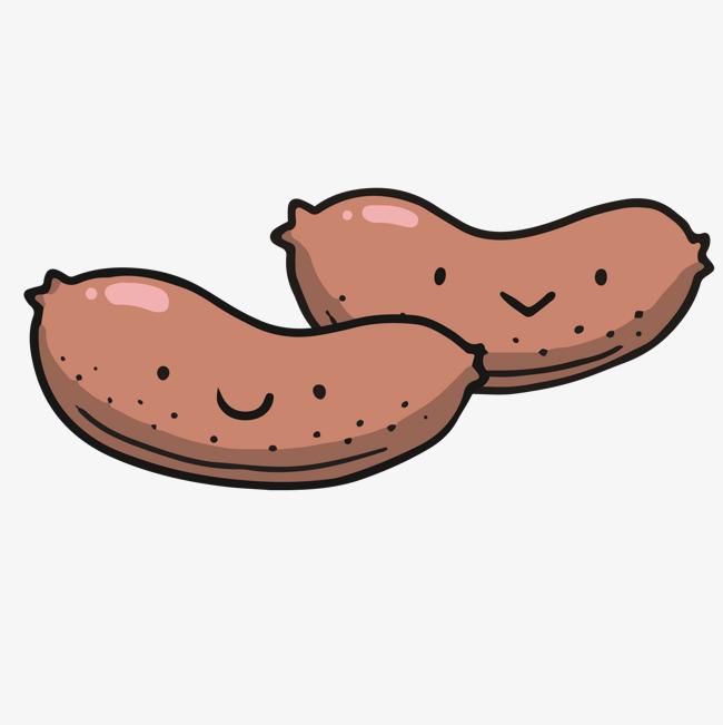 卡通创意手绘香肠