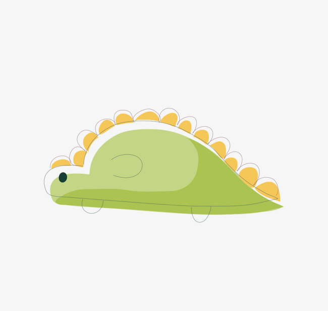 卡通手绘可爱的小乌龟