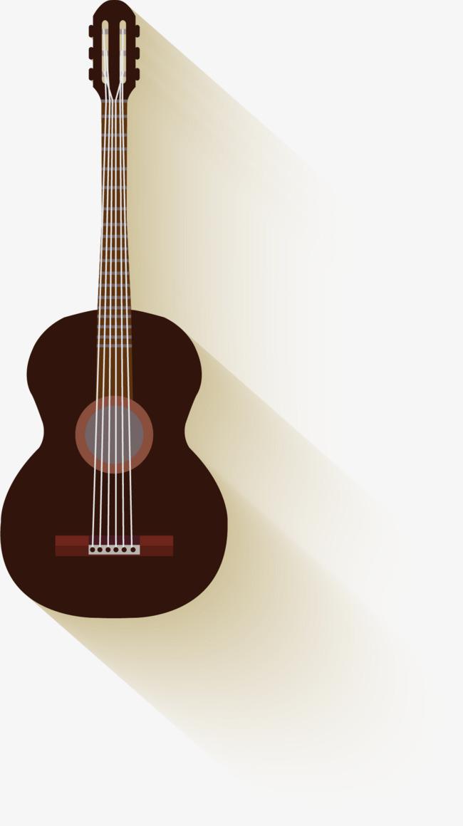 手绘吉他图案