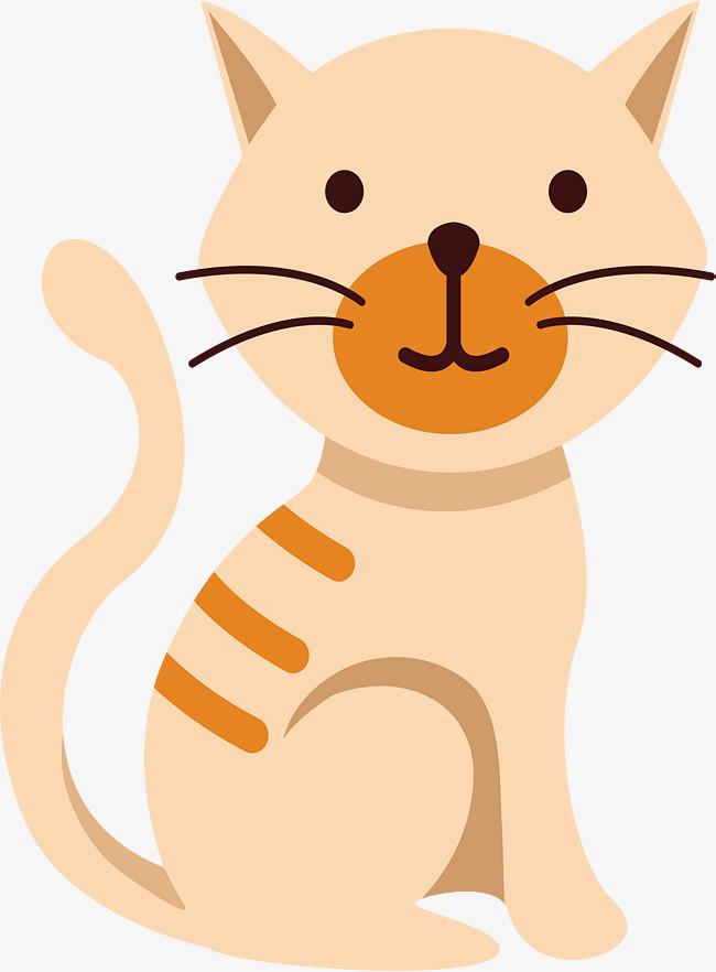 卡通可爱小猫设计
