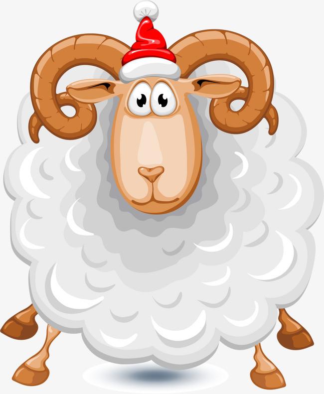 卡通手绘羊