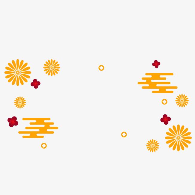 红色春节贺卡矢量图
