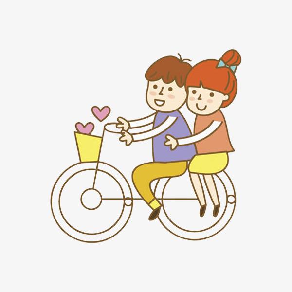 卡通浪漫的情侣免抠图png素材下载_高清图片png格式图片