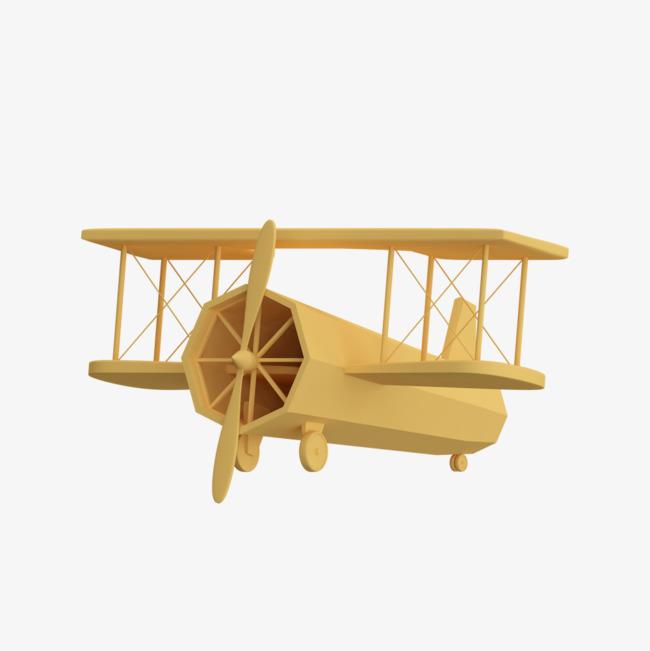 木质飞机手绘简图